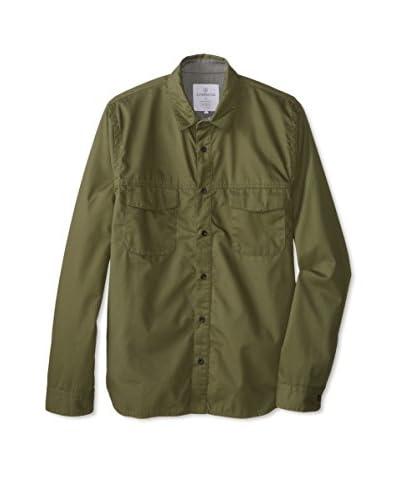 Alternative Men's Herringbone Shirt Jacket