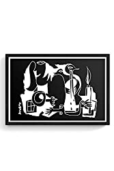 PosterGuy When You Cry, I Burn Illustration Painting Sketch, Art Laminated Framed Poster