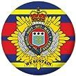 Royal Logistic Corps Flag 25mm Fridge Magnet