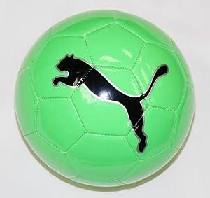 Puma FluoCat Training Soccer Ball, Green, 3
