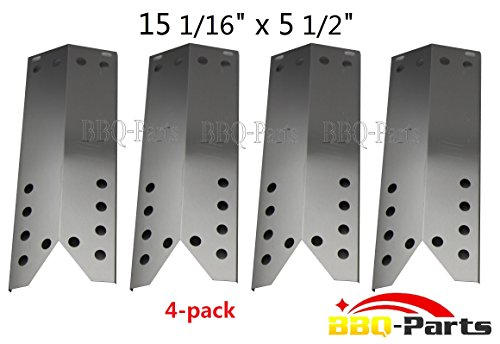 Buy Discount Hongso SPF781 (4-pack) Stainless Steel Heat Plate, Heat Shield, Heat Tent, Burner Cover...