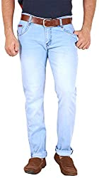 GOSWHIT Men's Slim Fit Jeans - 38