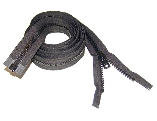 "Review Of Zipper 60"" Inch YKK, Black, #10, Seperating Zipper, Double Metal Slider, Boat Canvas"