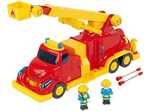 Amazon.com: Kids My Big Fire Truck Toy: Toys & Games