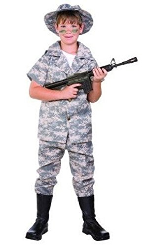 US Hero Digital Camo Costume