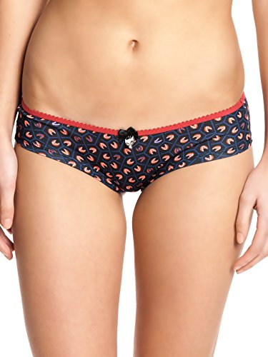 Pussy Deluxe Cat mosaico Hipster Set red/NAVY stampa allover