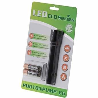 Photonpump® E6, LED Taschenlampe, 50 Lumen Lichtleistung; Art. Nr. 5006