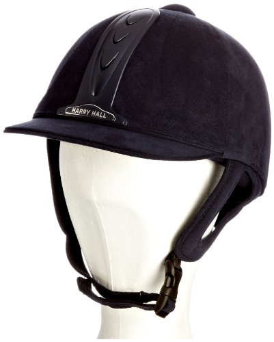 Harry Hall Kids Legend Riding Hat - Navy, 6 3/4 Inches