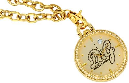 D&G Dolce & Gabbana DW0262 Secret Service Collection Pocket Watch