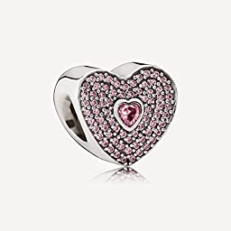 Pandora 791555czs Limited Edition Sweetheart Charm by Pandora