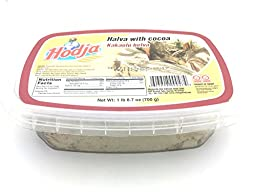Hodja Halva, Halva with Cocoa, 1 lb 8.7-Ounce