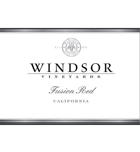 2012 Windsor Vineyards Fusion Red Wine, California, 750Ml