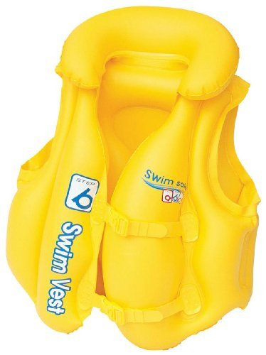 Bestway Swim Safe Vest Yellow Swimming Pool