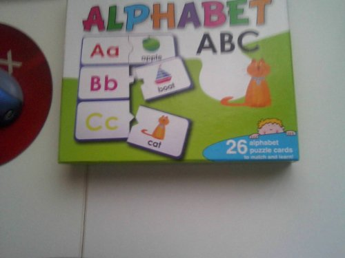 "Match and Learn Alphabet ""26 Alphabet Puzzle Cards"" - 1"