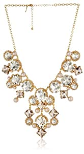 "kate spade new york ""Palace Gems"" Statement Necklace, 19"""
