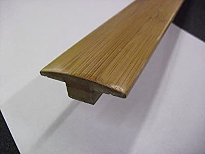 Horizontal Toast 3/8 in. Thick x 2 in. Wide x 47 in. Length Bamboo T-Molding