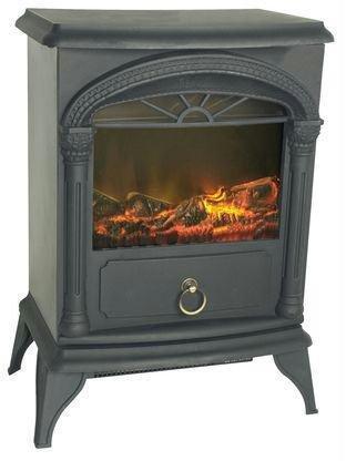 Exclusive By Fire Sense Fire Sense Vernon Electric Fireplace Stove