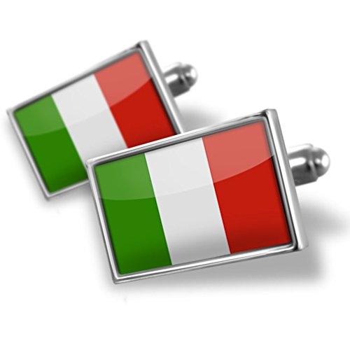 Cufflinks Italian Flag - Neonblond (Italian Flag Cufflinks compare prices)
