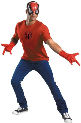 Disguise Men's Marvel Spider-Man Adult Costume Kit