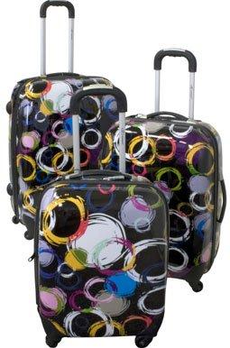 Trolley-Set, Koffer-Set - TOP-Design - 3-tlg,