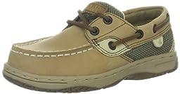 Sperry Top-Sider Bluefish Boat Shoe (Toddler/Little Kid/Big Kid), Linen/Oat, 12 M US Little Kid