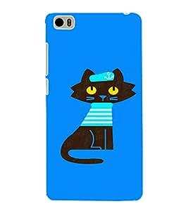 EPICCASE Captain Cat Mobile Back Case Cover For Xiaomi Mi5 (Designer Case)