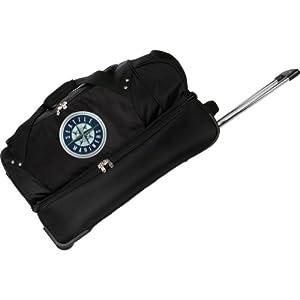 MLB Denco 27-Inch Drop Bottom Rolling Duffel Luggage by Denco