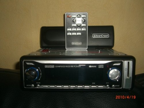 Silvercrest Autoradio KH 2391 mit MP3 USB Speicherkarte