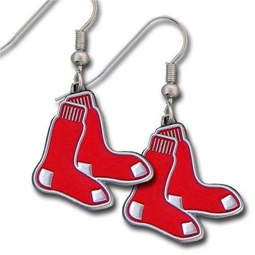 MLB Boston Red Sox Dangle Earrings