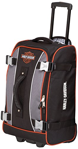 harley-davidson-21-inch-hybrid-luggage-gray-black-one-size