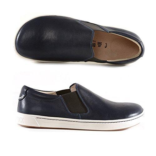 BIRKENSTOCK 389211 BELO SCARPE DONNA stringate sneakers pelle Navy (38, NAVY)
