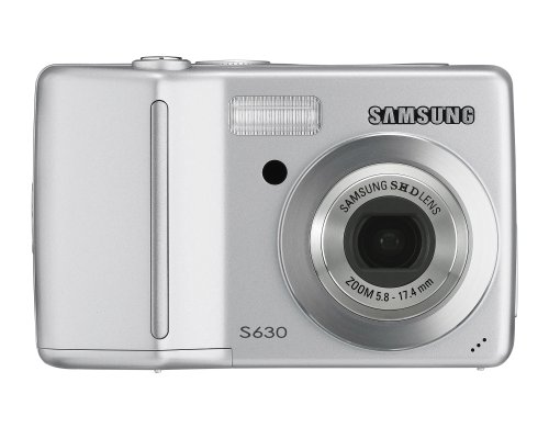 418N5QhV9xL Samsung Digimax L60 6.0MP Digital Camera with 3x Optical Zoom (Silver)
