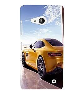 printtech Superfast Car Back Case Cover for Nokia Lumia 550::Microsoft Lumia 550
