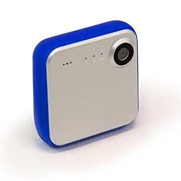 iON SnapCam Wearable caméra HD avec Wi-Fi et Bluetooth - Argent