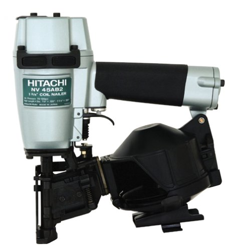 Hitachi NV45AB2S 7/8-Inch to 1-3/4-Inch Coil Roofing Nailer
