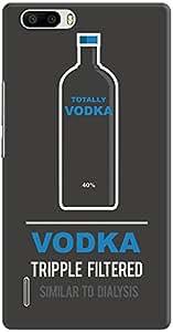 DailyObjects Vodka Bottle Case For Huawei Honor 6X