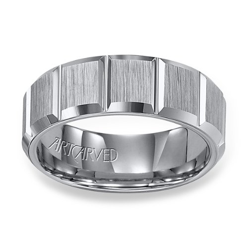 11-Wv2525C Warren Tungsten Wedding Band From Artcarved