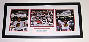 Buy Patrick Kane & Jonathan Toews Autographed 2013 Chicago Blackhawks Stanley Cup Compilation -... by #1 Sports