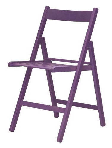 """""""Maison"""" sedia pieghevole listellare 100% FSC lilla"""