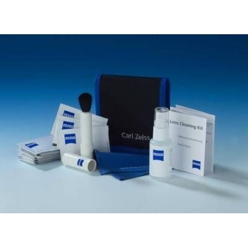 Carl Zeiss Camera Cleaning Kit of Brush Lens Cloth and Moist Cloths and Cleaning Fluid 30ml Ref CLCK00
