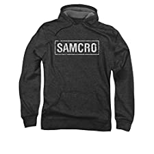 Sons Of Anarchy SAMCRO Pull Over Hoodie