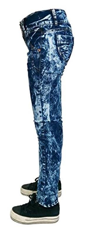 ELLA JEANS Acid Wash Skinny Jeans