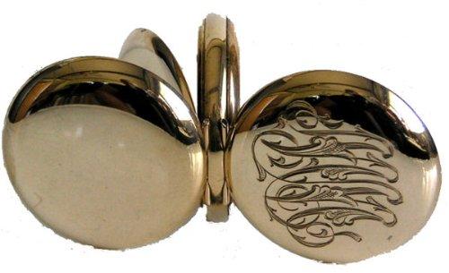 #B4D Swiss Eaton Antique Ladies Pocket Watch 14K Solid Gold Hunter Case Ca 1900