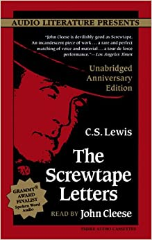 amazoncom the screwtape letters anniversary edition With screwtape letters audio