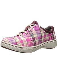 Dansko Women S Brandi Pink Madras Fashion Sneaker