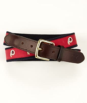 NFL Washington Redskins Canvas Club Belt by Vineyard Vines