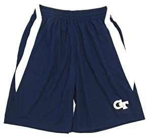 Buy Genuine Stuff Georgia Tech Yellow Jackets Mens Side Block Shorts by Genuine Stuff