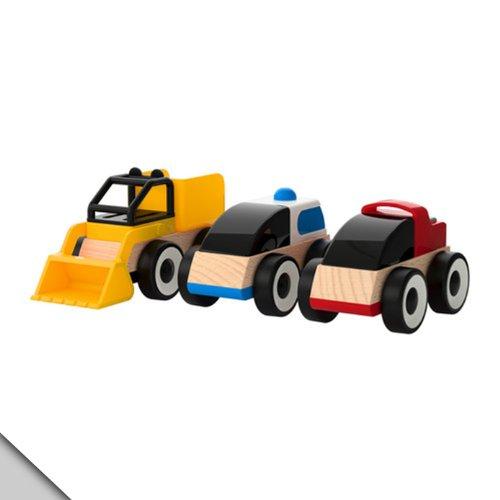リラブー / LILLABO おもちゃ のりもの / アソートカラー/3ピース[イケア]IKEA(50185831)