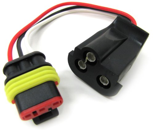 Peterson Manufacturing 417-491 Led 3-Wire Molded Plug
