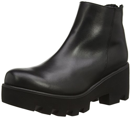 Cult Yoko Mid 954 Brush.Leather, Stivaletti, Donna, Nero (Black), 39